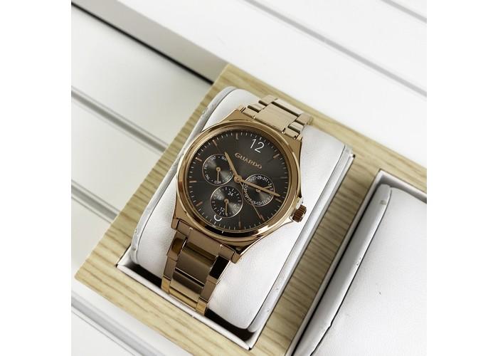 Женские часы Guardo 011755-5 Cuprum-Brown