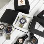 Мужские часы Chronte с логотипом ДСНС Black-Gold