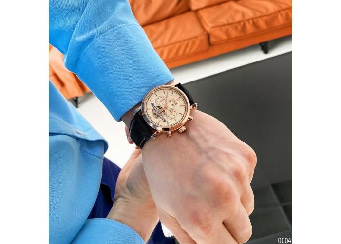 Мужские часы Jaragar 540 Black-Cuprum