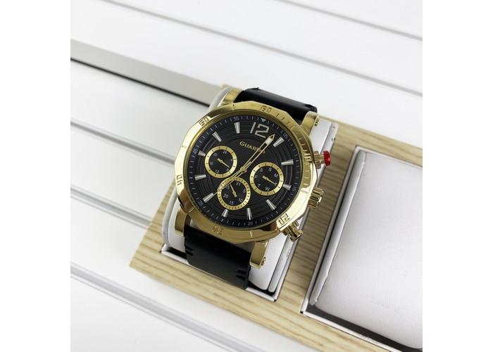 Мужские часы Guardo 11253-3 Black-Gold