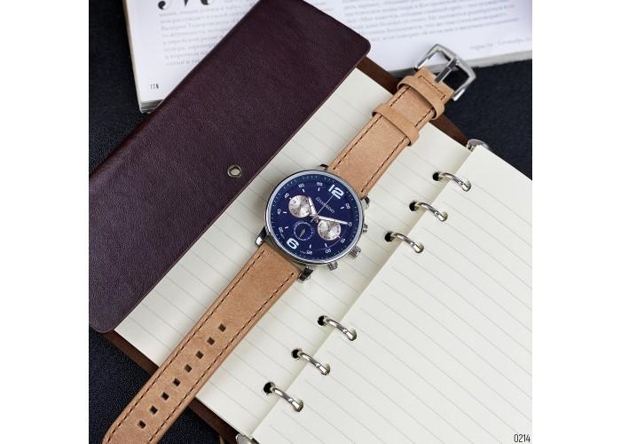 Мужские часы Guardo 12432(1)-2 Brown-Silver-Blue