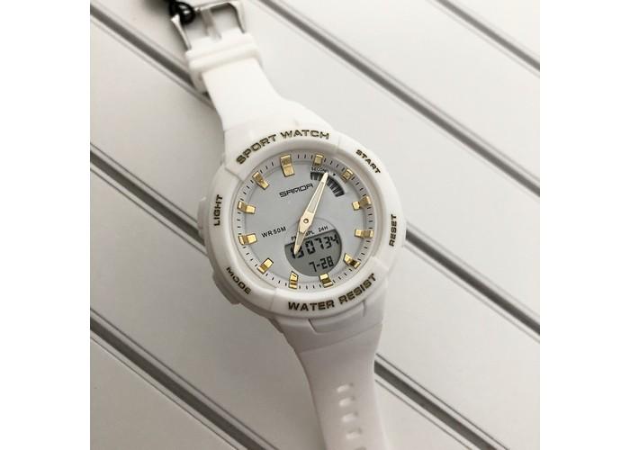 Женские часы Sanda 6005 White-Gold