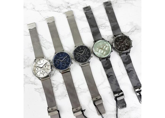 Мужские часы Guardo B01116-1 Silver-Black