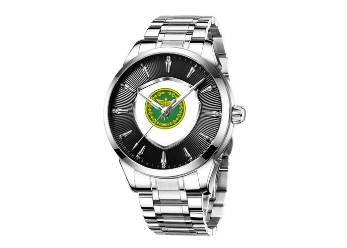 Мужские часы Chronte с логотипом Налоговая Служба Silver-Black-White