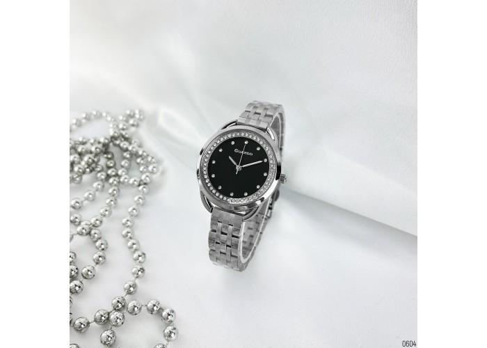 Женские часы Guardo 012667-2 Silver-Black