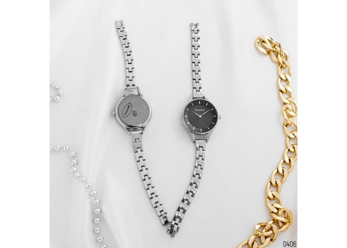 Мужские часы Guardo 012440-2 Silver-White