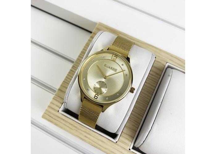 Женские часы Guardo 011636-3 All Gold