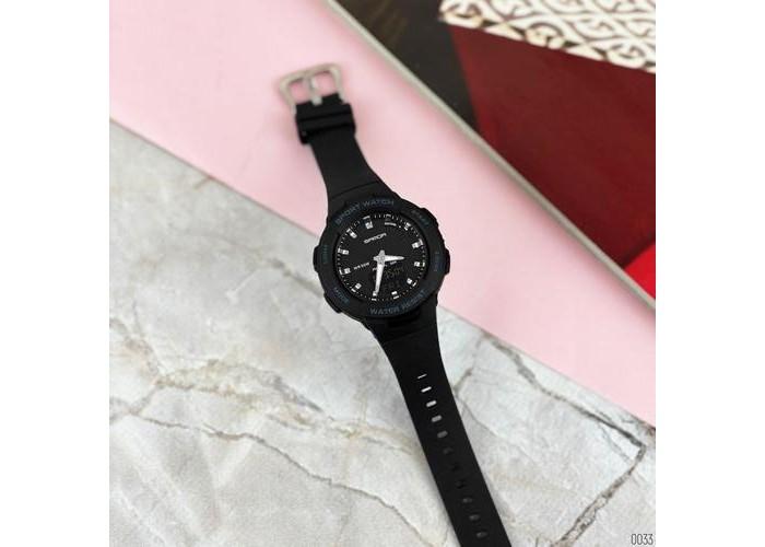 Женские часы Sanda 6005 Black-Silver