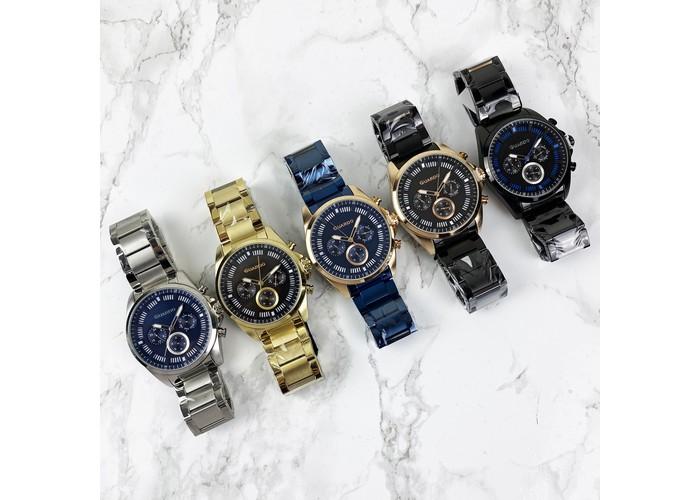 Мужские часы Guardo 011123-4 Blue-Cuprum