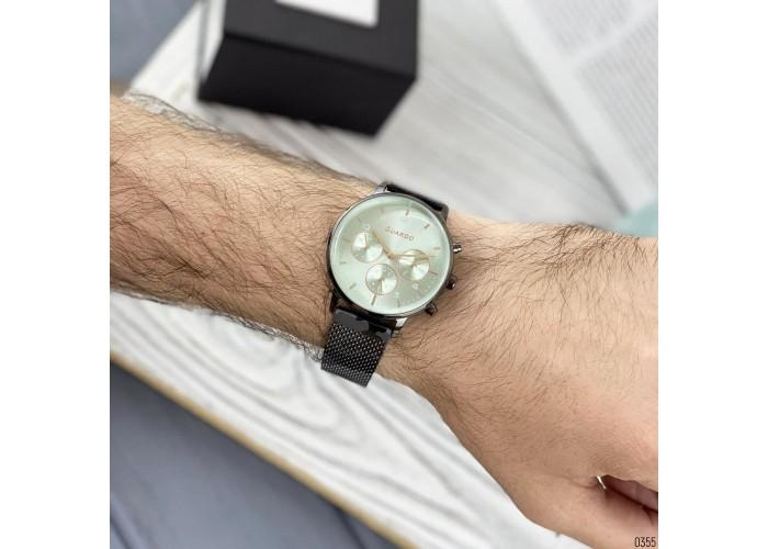 Мужские часы Guardo B01116-5 Gray-Green