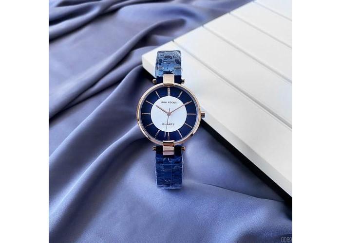 Женские часы Mini Focus MF0224L Blue-Gold