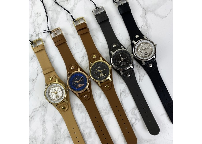 Мужские часы Guardo 011265-5 Brown-Cuprum-Blue