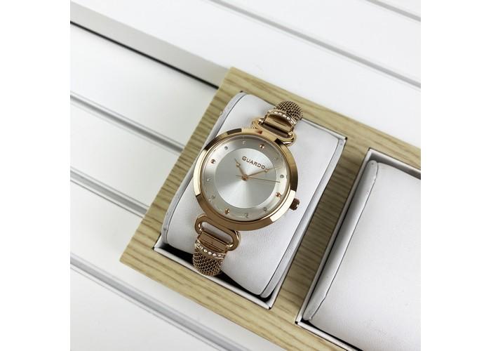 Женские часы Guardo T01059-5 Cuprum-White