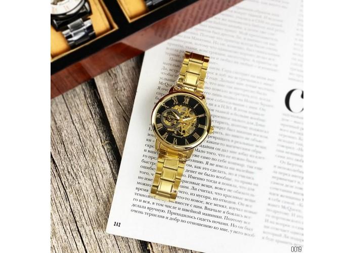 Мужские часы Chronte 412C Gold-Black
