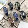 Мужские часы Guardo 11269-6 Black-Silver
