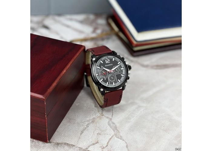 Мужские часы Guardo 011998-5 Red-Black-Gray