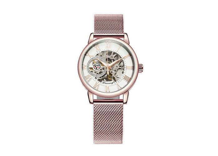 Женские часы Chronte 412 Cuprum-White