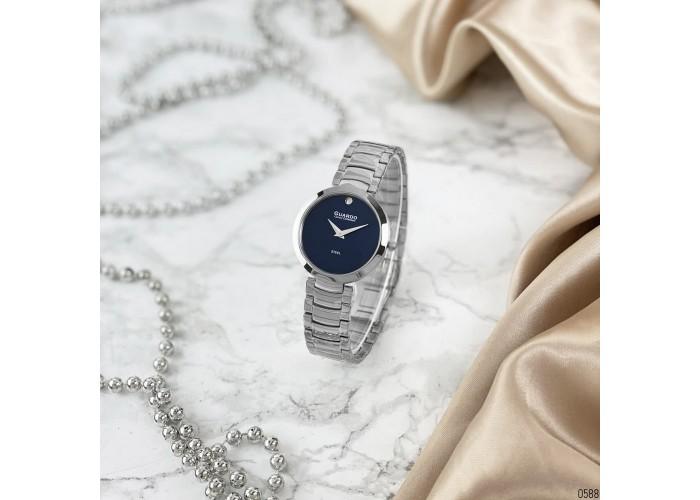 Женские часы Guardo S02407-3 Silver-Blue