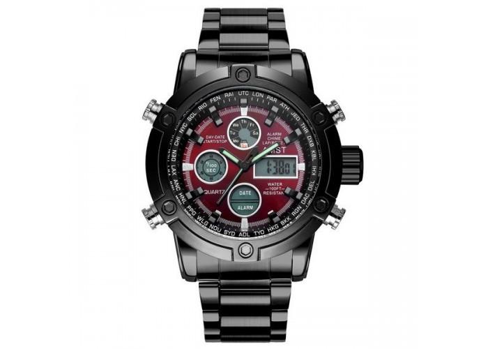 Мужские часы AMST 3022 Metall Black-Red