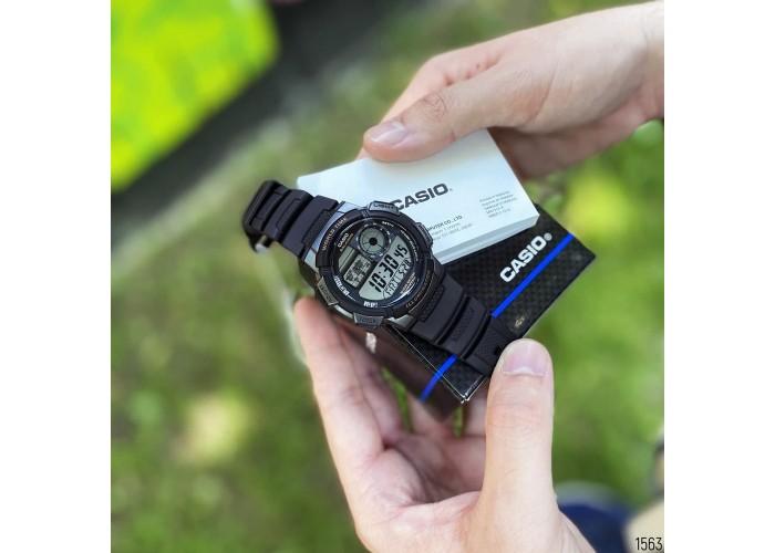 Мужские часы Casio AE-1000W-1AVEF All Black