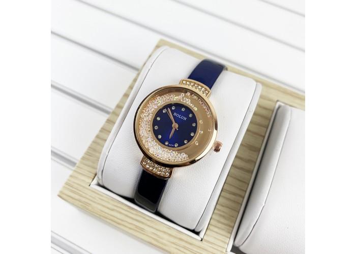 Женские часы Bolun 5533L Blue-Cuprum