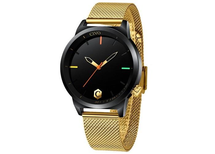 Мужские часы Chronte John Gold-Black