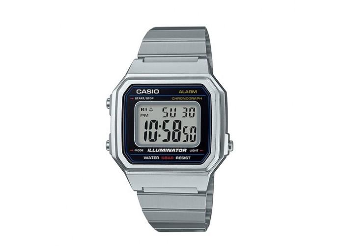 Мужские часы Casio B650WD-1AEF Silver-Black